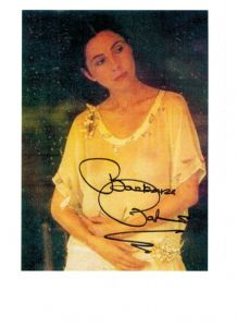 Barbara Parkins, genuine signed autograph, 10 x 8 inch,  06564